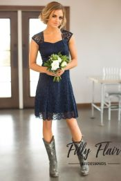 Vintage wedding outfit with country boots 61