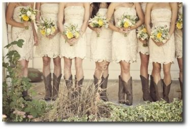 Vintage wedding outfit with country boots 9