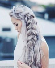 Amazing khaleesi game of thrones hairstyle ideas 13