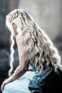 Amazing khaleesi game of thrones hairstyle ideas 14