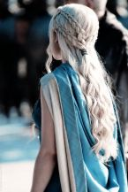 Amazing khaleesi game of thrones hairstyle ideas 17