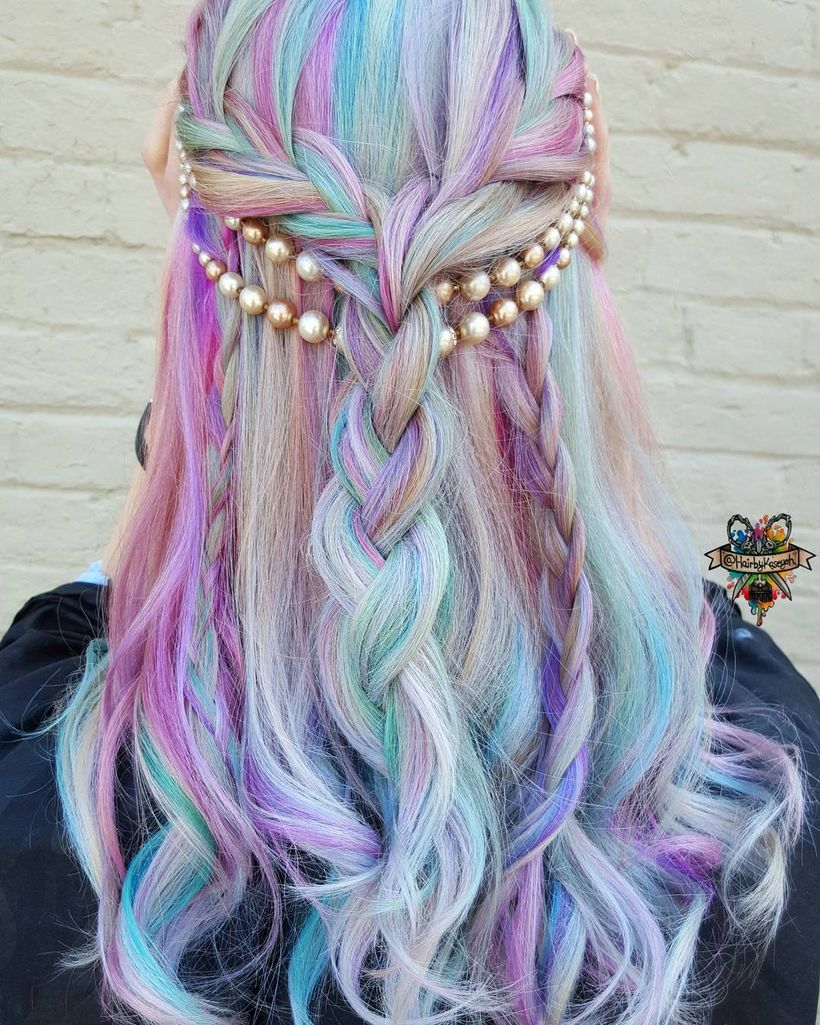 Amazing khaleesi game of thrones hairstyle ideas 19