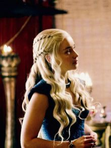 Amazing khaleesi game of thrones hairstyle ideas 30