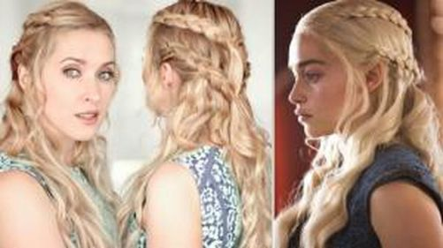 Amazing khaleesi game of thrones hairstyle ideas 37