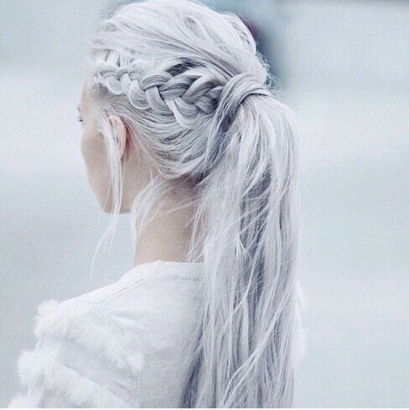 Amazing khaleesi game of thrones hairstyle ideas 39