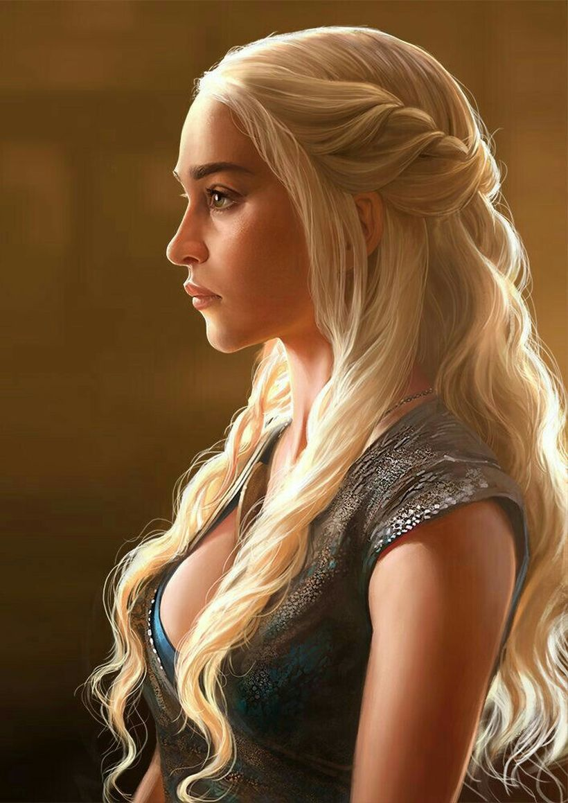 Amazing khaleesi game of thrones hairstyle ideas 45