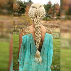 Amazing khaleesi game of thrones hairstyle ideas 8