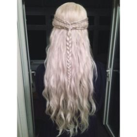 Amazing khaleesi game of thrones hairstyle ideas 9