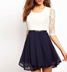 Amazing white short dresses ideas for party outfits 16
