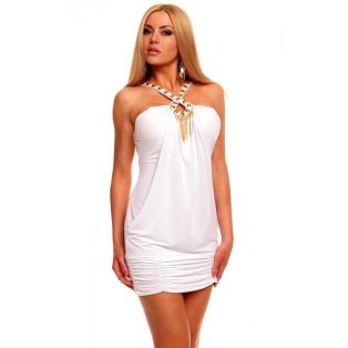 Amazing white short dresses ideas for party outfits 8