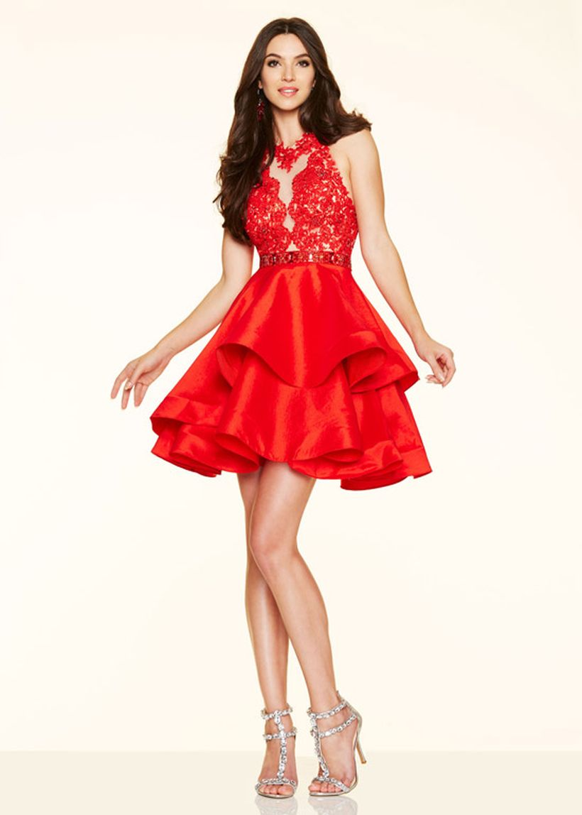 Awesome teens short dresses ideas for graduation outfits 14