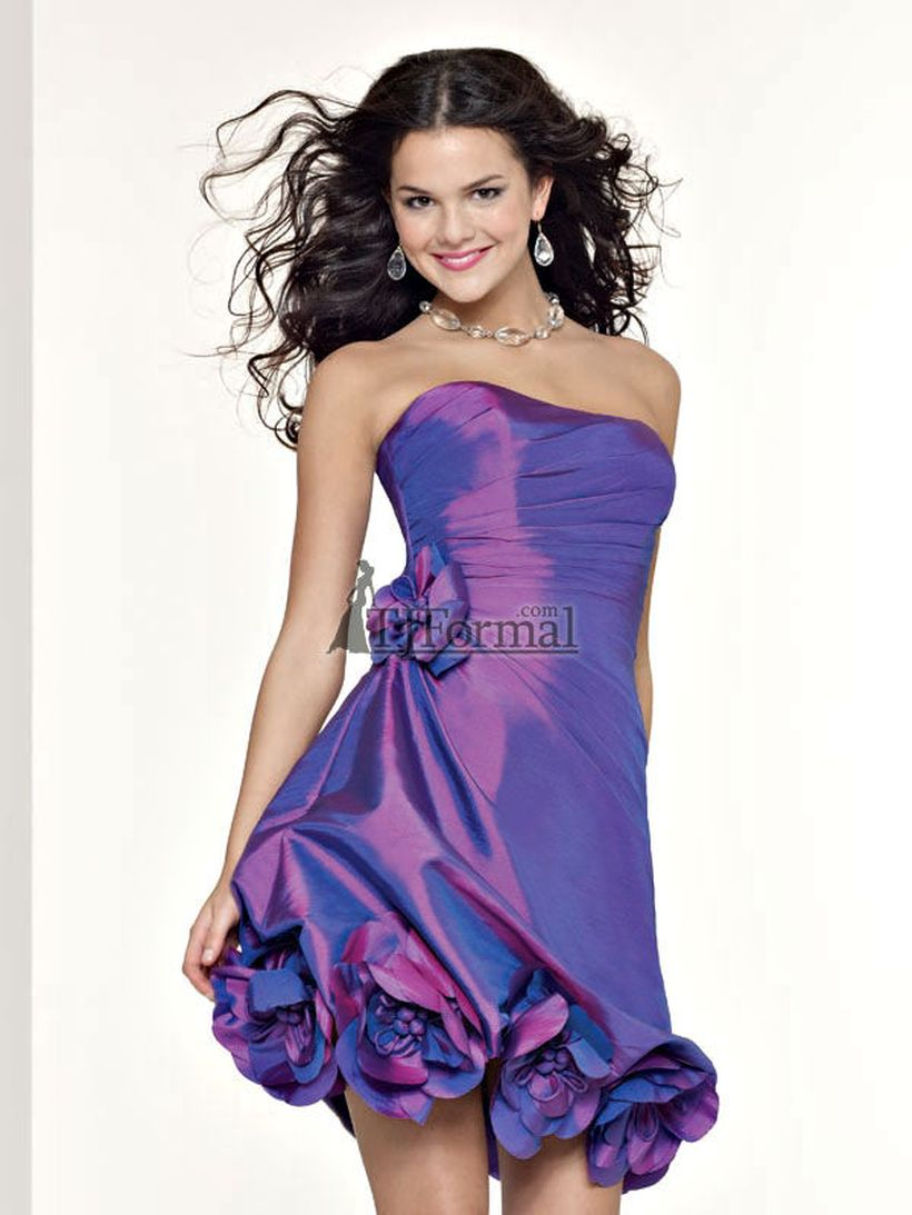 Awesome teens short dresses ideas for graduation outfits 145