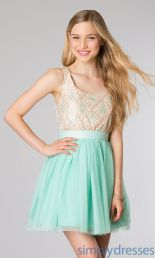 Awesome teens short dresses ideas for graduation outfits 151