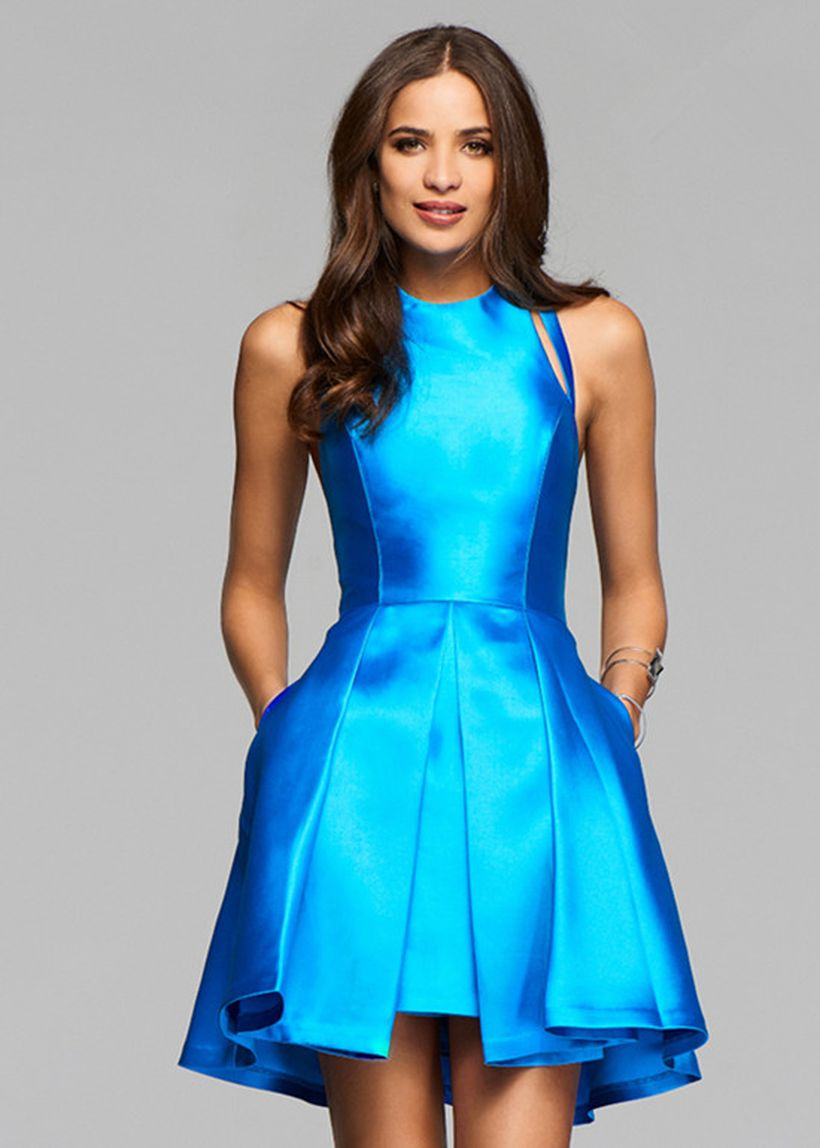 Awesome teens short dresses ideas for graduation outfits 161