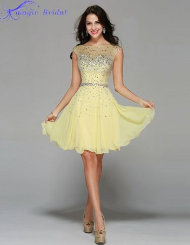 Awesome teens short dresses ideas for graduation outfits 168