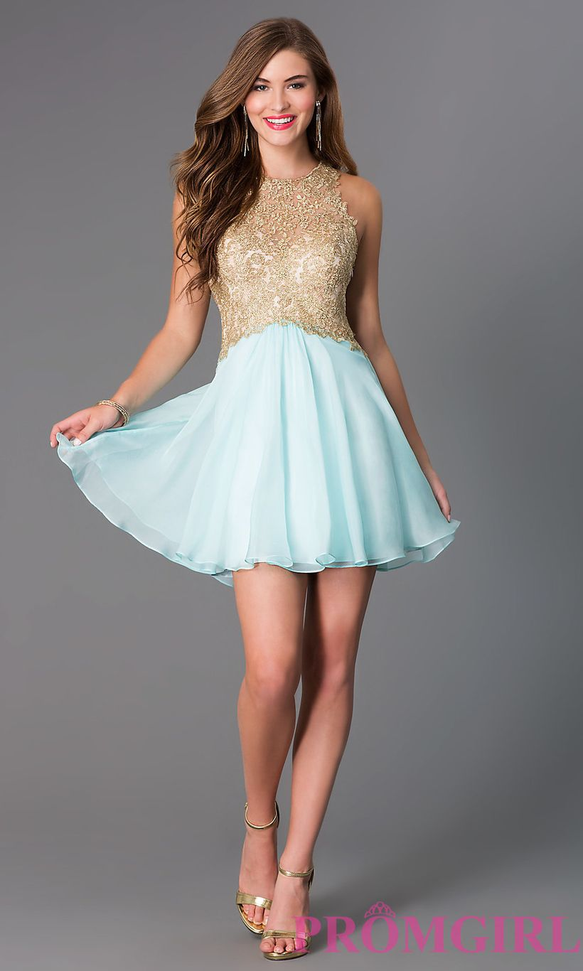 Awesome teens short dresses ideas for graduation outfits 26