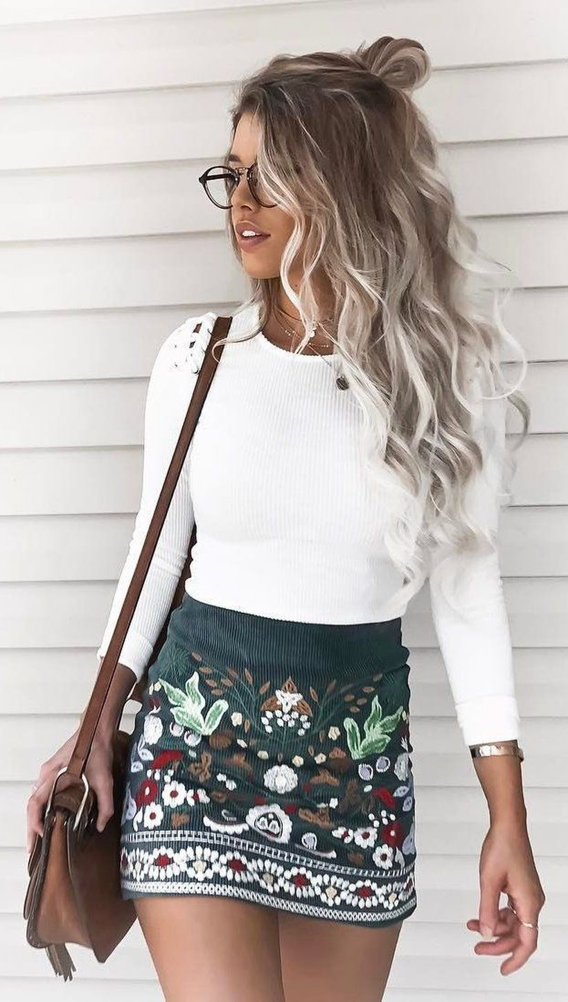 Cool casual street style outfit ideas 2017 8