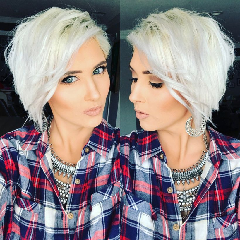 Cool short pixie blonde hairstyle ideas 105