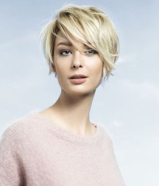 Cool short pixie blonde hairstyle ideas 108