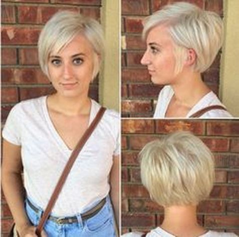 Cool short pixie blonde hairstyle ideas 123