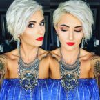 Cool short pixie blonde hairstyle ideas 38