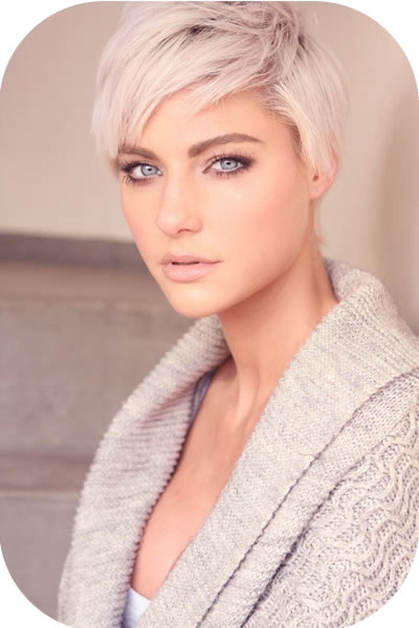 Cool short pixie blonde hairstyle ideas 48
