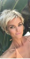 Cool short pixie blonde hairstyle ideas 52