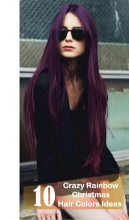 Crazy colorful hair colour ideas for long hair 11