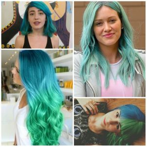 Crazy colorful hair colour ideas for long hair 115
