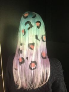 Crazy colorful hair colour ideas for long hair 117