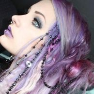 Crazy colorful hair colour ideas for long hair 128