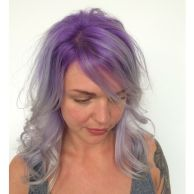 Crazy colorful hair colour ideas for long hair 129