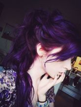 Crazy colorful hair colour ideas for long hair 136