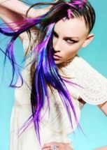 Crazy colorful hair colour ideas for long hair 153
