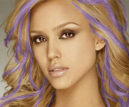 Crazy colorful hair colour ideas for long hair 155
