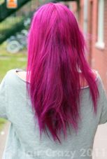 Crazy colorful hair colour ideas for long hair 161