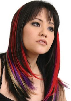 Crazy colorful hair colour ideas for long hair 179