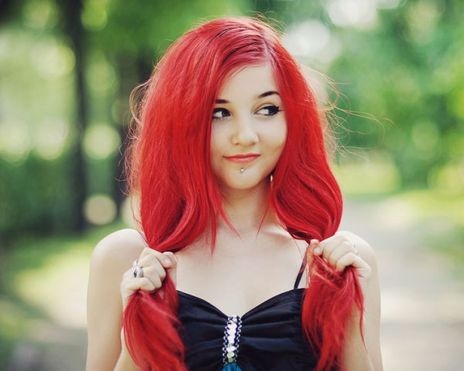 Crazy colorful hair colour ideas for long hair 30