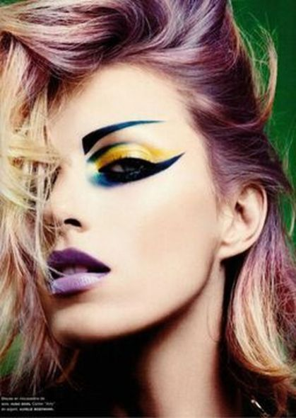 Crazy colorful hair colour ideas for long hair 55
