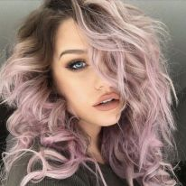 Crazy colorful hair colour ideas for long hair 58
