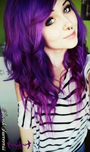 Crazy colorful hair colour ideas for long hair 68