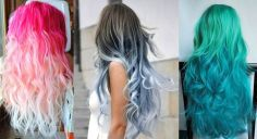 Crazy colorful hair colour ideas for long hair 76