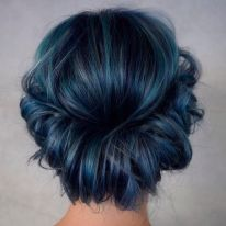 Crazy colorful hair colour ideas for long hair 8
