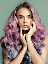 Crazy colorful hair colour ideas for long hair 87