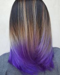 Crazy colorful hair colour ideas for long hair 93