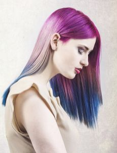 Crazy colorful hair colour ideas for long hair 98