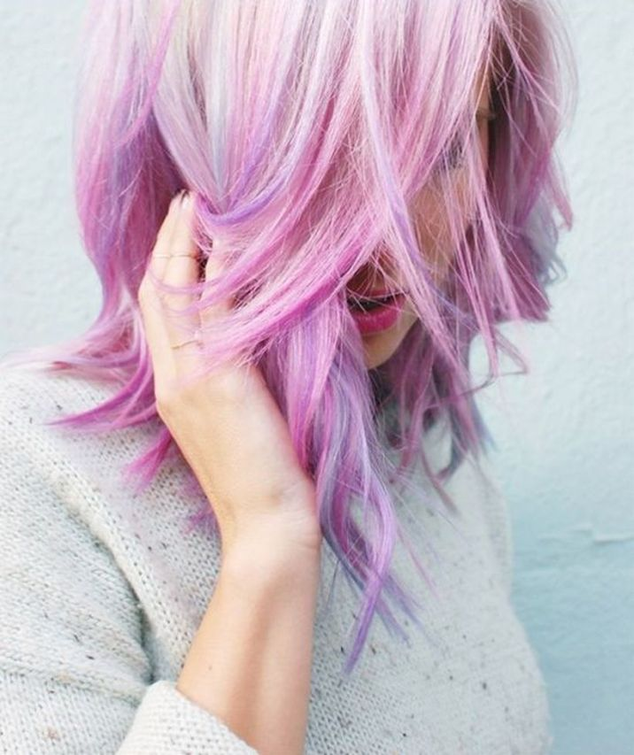 Crazy hair colour ideas for medium and short hair 1