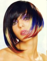 Crazy hair colour ideas for medium and short hair 109