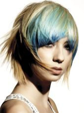 Crazy hair colour ideas for medium and short hair 19