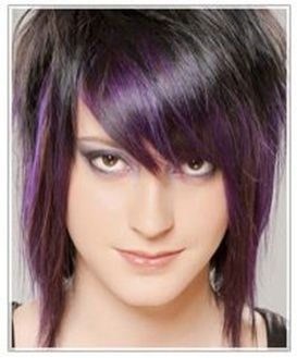 Crazy hair colour ideas for medium and short hair 2
